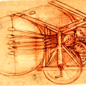 """MÚSICA Da Vinci considerava a música """"um alimento para a alma"""". Descubra e conheça os vários desenhos de instrumentos deixados pelo mestre renascentista."""