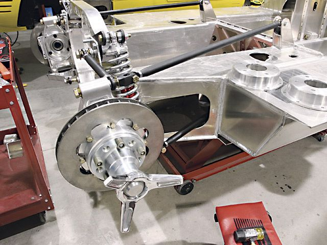 Tig-welded, aluminum monocoque chassis   Modern Technology & Engineering    Learn More