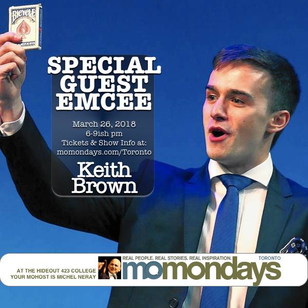 Keith Special Guest at MoMondays