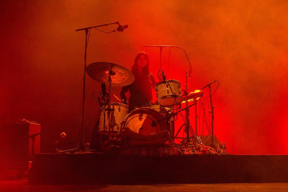 Warpaint at Danforth Music Hall (pictured: Stella Mozgawa)