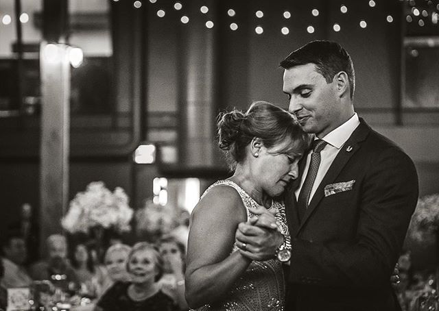 I'll admit it...I cry a little at every wedding.  I'm not a mushy person but every wedding has that special moment where real emotions run high.  Sometimes I cry because the people are so genuinely funny that you end up looking like this emoji 😂. In this case, it was during the mother-son dance.  At first it was like any other parent-child dance but then I noticed that it hit Tom's mom: her baby was no longer a baby.  As a mother, that's what always gets me about weddings - the idea that one day my girls won't be my babies anymore.  This lovely woman tearfully apologized to me for crying during the photos but I felt nothing but gratitude that she was willing to be vulnerable enough to let me feel what she was feeling. • • • • • #realgroom #motherson #mothersondance #babiesgrowtoofast #radlovestories #bridalparty #mrandmrs #herecomesthebride #newlyweds #weddingday #weddinginspo #weddingmoments #weddingphotographer #vintagewedding #lookslikefilm #torontowedding #huffpostido #amotherslove #documentarywedding #momentsovermountains #rfwppi #bridesof2019