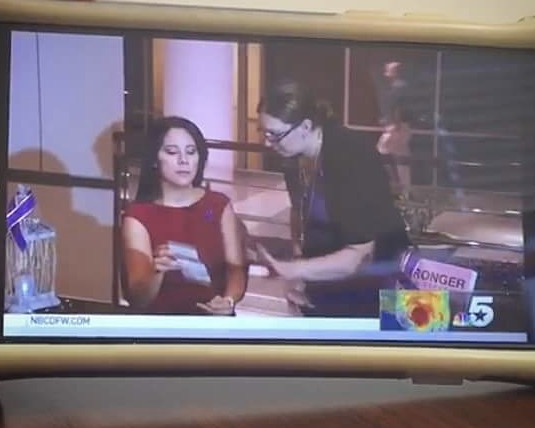 Did you catch this? Dr. Christy Sim (Executive Director) talks with Roxanne Bunkoff about the new Stronger Than Espresso Shoe Card