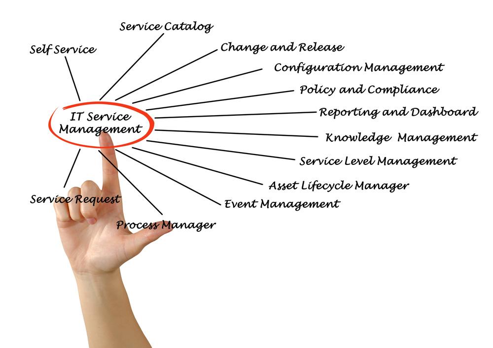 IT Service Management chart