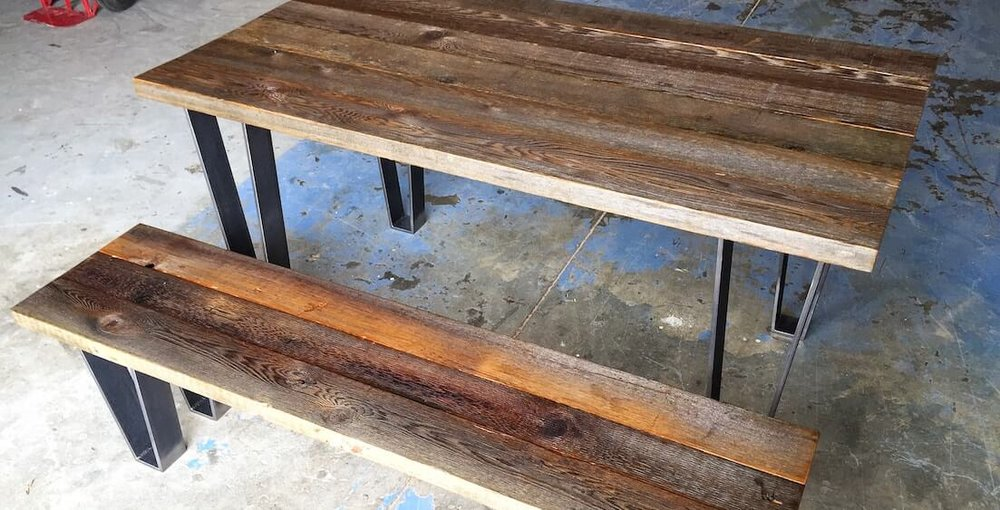 Rustic Furniture Quint Handmade Furniture. Reclaimed Wood Denver Bedroom ... - Reclaimed Wood Denver WB Designs