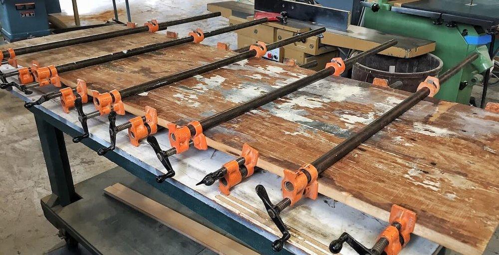 reclaimed rustic barn wood glue up quint handmade furniture denver - Rustic Furniture Quint Handmade Furniture