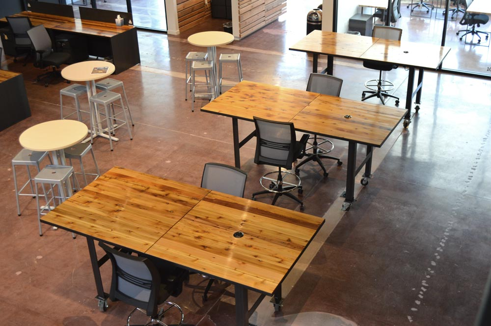 Alchemy Creative Workspace Quint Handmade Furniture - Community table furniture