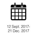 September 12, 2017- June 21, 2018