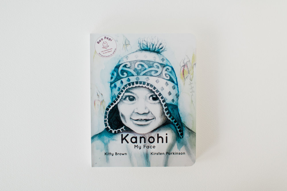Kanohi-My Face By Kitty Brown and Kirsten Parkinson ISBN: 978-0-473-33150-4