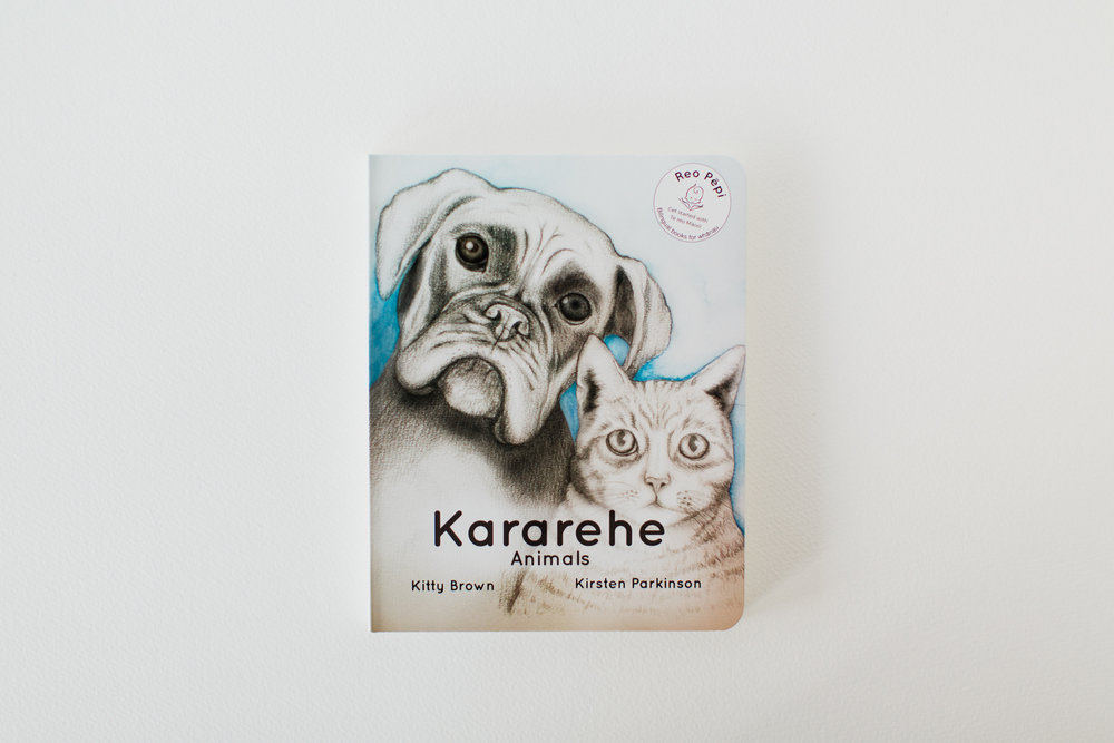 Kararehe-Animals      By Kitty Brown and Kirsten Parkinson      ISBN: 978-0-473-33151-1