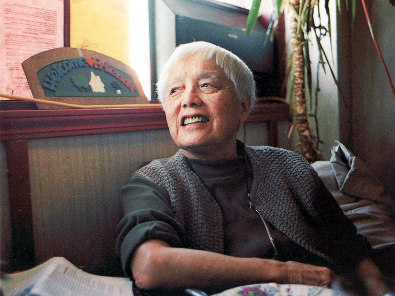 Grace Lee Boggs. Image Courtesy of American Revolutionary.