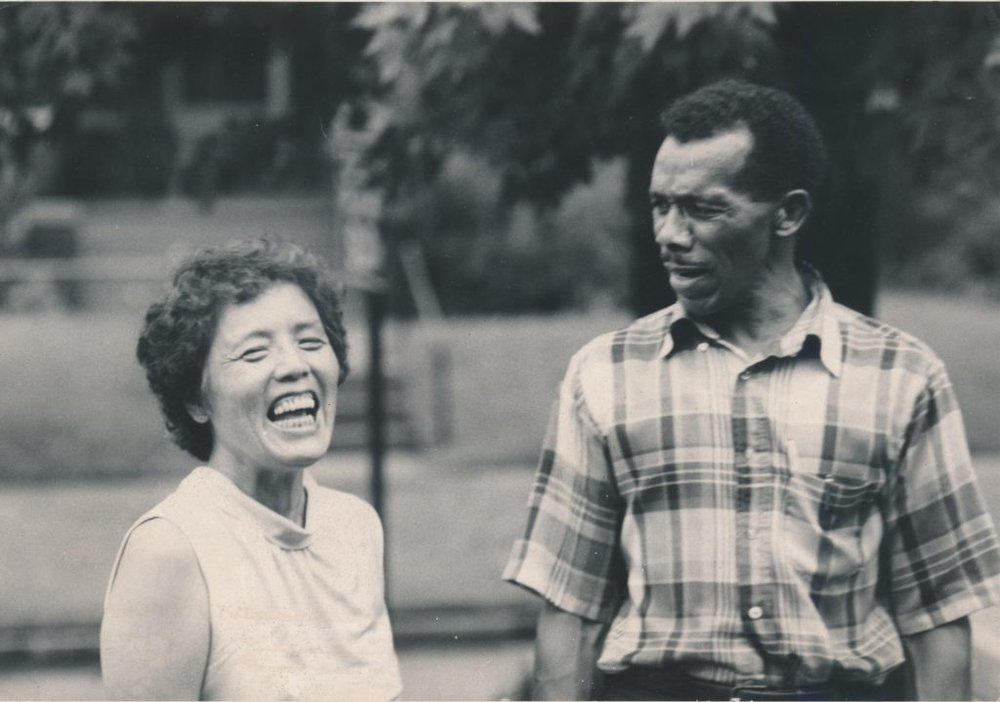 Grace Lee and James Boggs. Image courtesy of The James and Grace Lee Boggs Center to Nurture Community Leadership.
