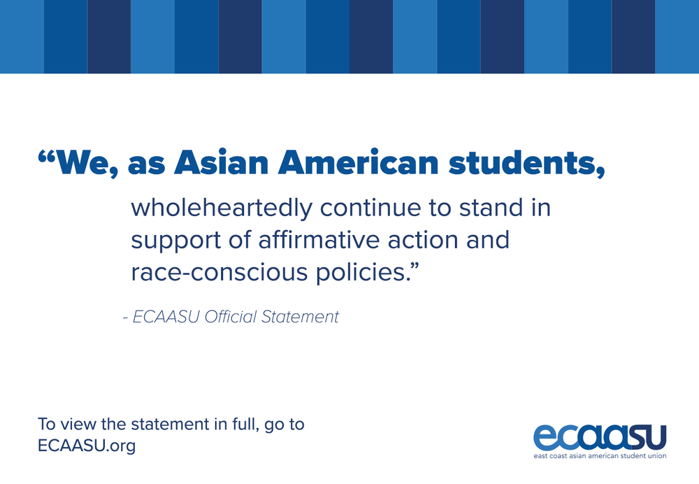 Official Statements East Coast Asian American Student Union