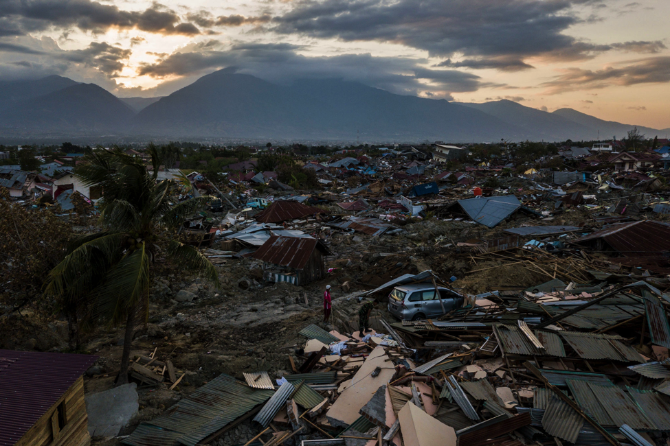Palu, indonesia in the aftermath of the earthquake    credit: adam dean for the new york times