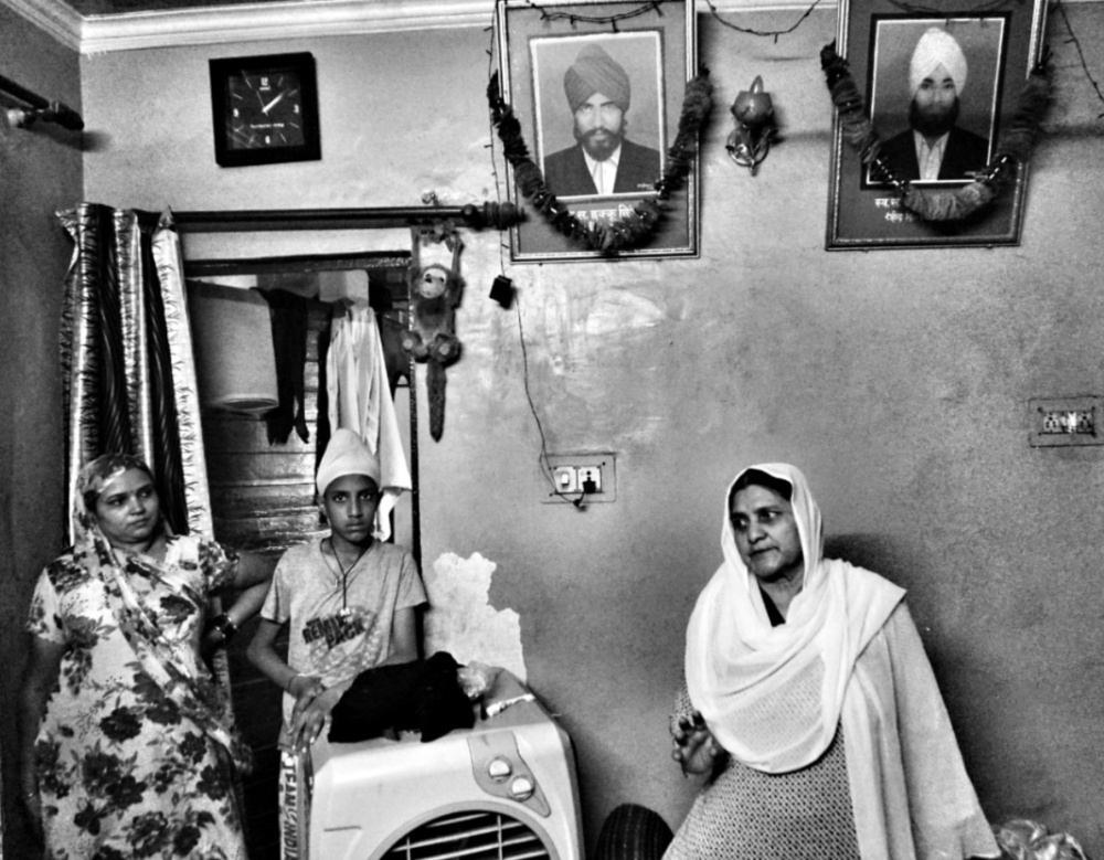 Many Sikh families, especially Sikh women, bear the emotional cost of losing husbands, brothers-in-law, and siblings to the Sikh genocide. Photo Credits:  The Logical Indian Crew