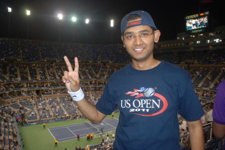 The tennis fan in me - U.S. Open 2011, Flushing Meadows, New York.