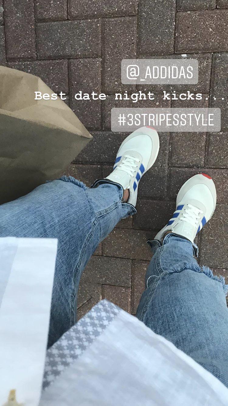 adidas on feet