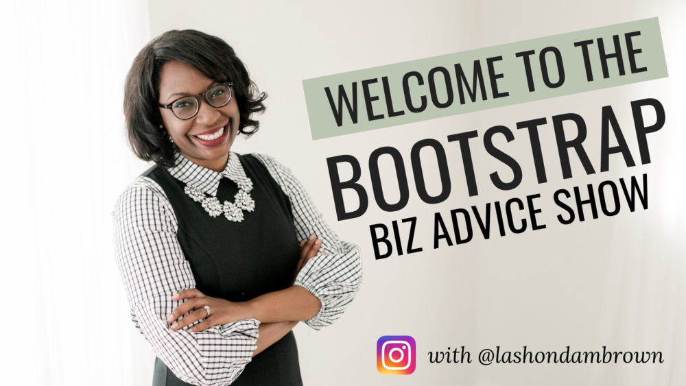 BOOTSTRAP BIZ ADVICE SHOW  - The Bootstrap Biz Advice is a YouTube Channel which features Squarespace and Canva Tutorials. From time to time I also review website and mobile applications that help people to grow their brands without breaking the bank. So if you are bootstrapping your biz, you'll love this channel. Click the button below to start watching!