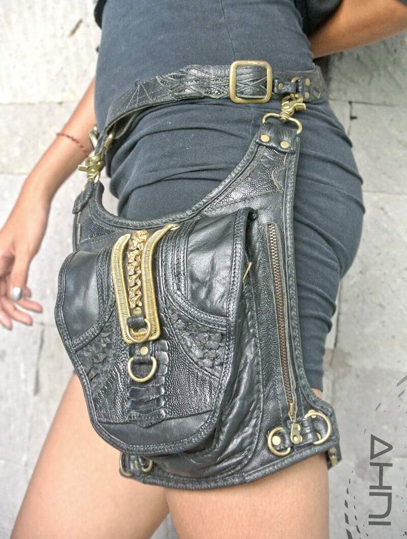 handgemaakte Adjustable Thigh Pouch