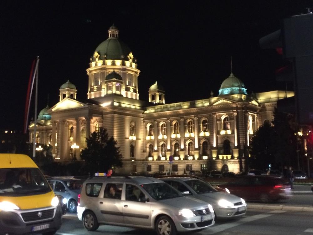 BelgradeAtNight