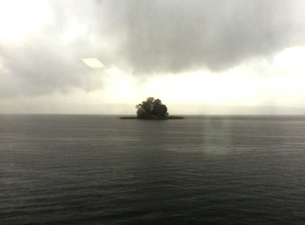 I can't prove this, but I believe Satanic rituals are held on this solitary island.