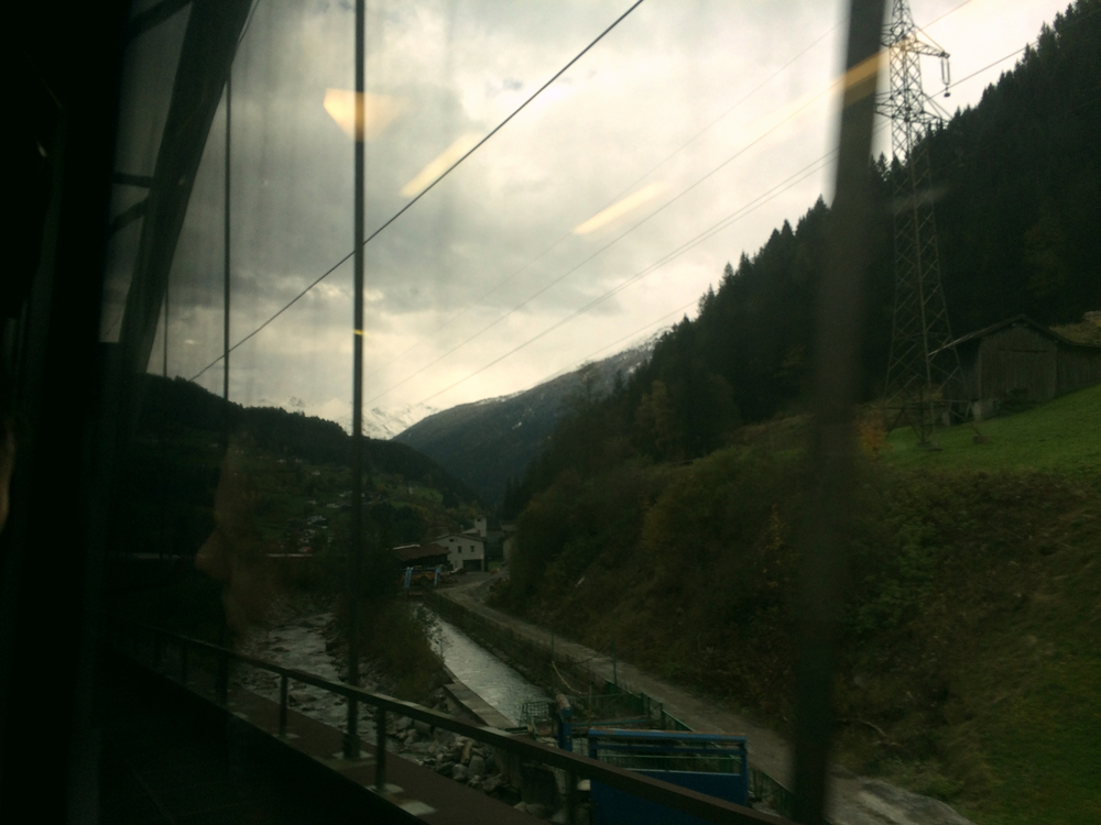 Runnin' a train on Switzerland...