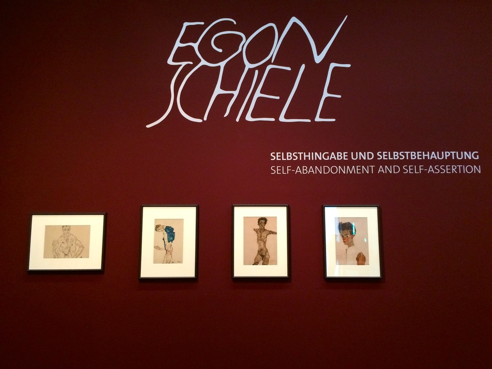 Egon Schiele. He was featured in his own exhibition. It was dark and twisted. And not in a good way. Basically: meh.