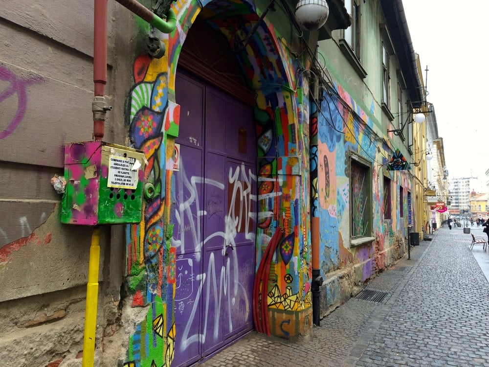 Some cool street art. Purdy colors and such.