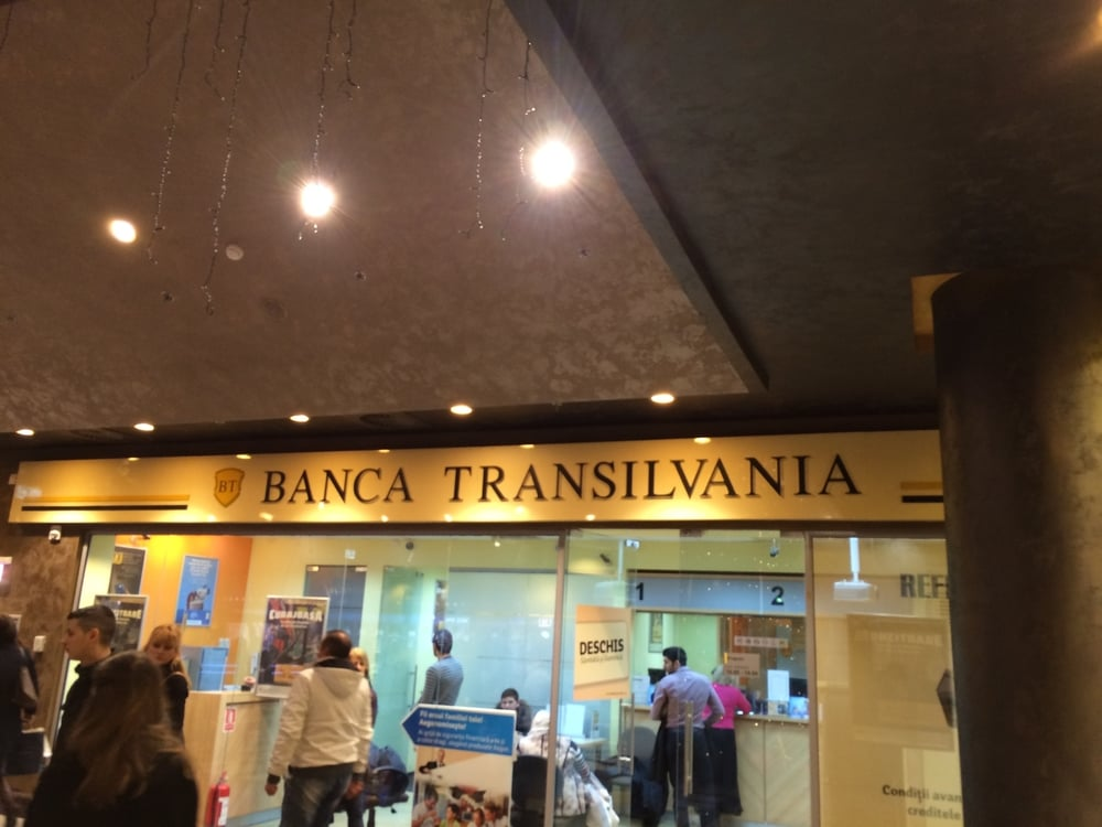 I wonder if Dracula banks here. Cuz of the Transilvania. Get it?