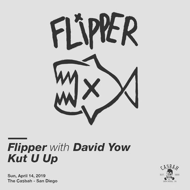This Sunday! Come hangout at the @casbahsandiego playing with @_flipperofficial_ @kutuupmusic @planetbband get there early. We don't want to the Game Of Thrones excuses, it will be on demand when you get home! See you Sunday! #flipper #authenticsellout #casbahsd #sandiegopunk #punklife