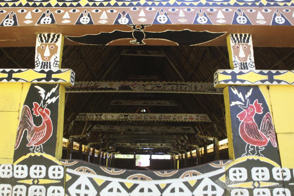 Entrance Detail, Traditional Bai (Meeting House), Koror, Palau.jpg