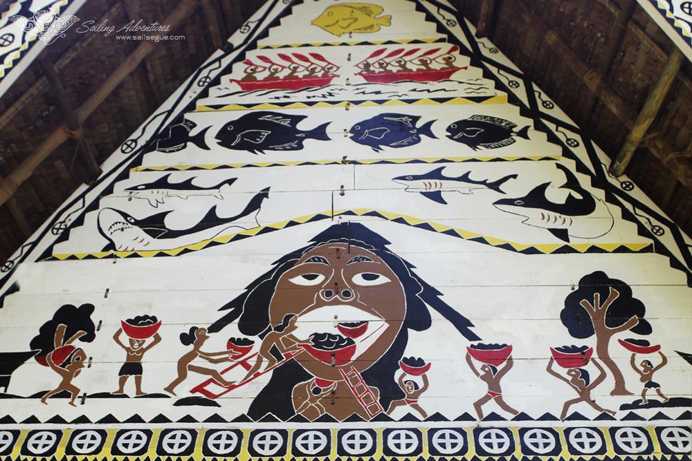 Front Detail, Traditional Bai (Meeting House), Koror, Palau.jpg