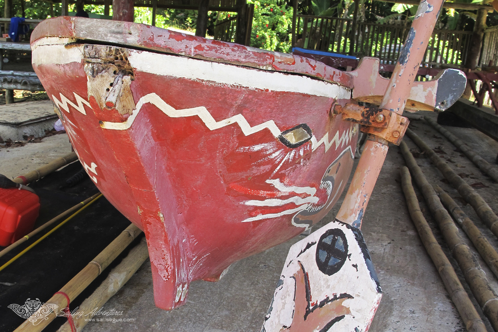Traditional Dugout Canoe, Koror Island, Palau.jpg