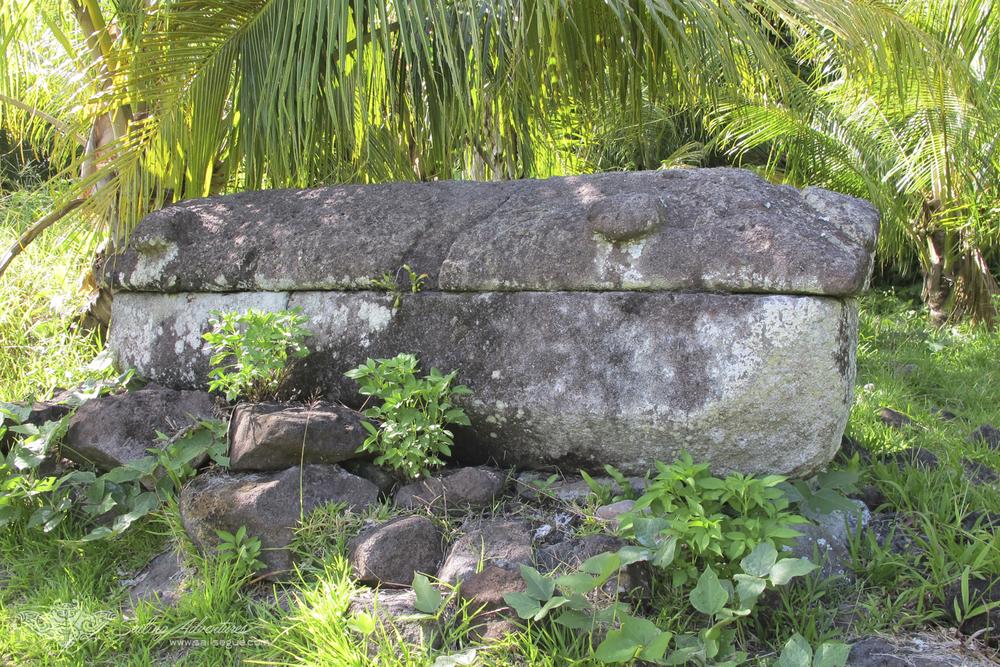 Traditional Historical Coffin, Babeldaob Island, Palau.jpg