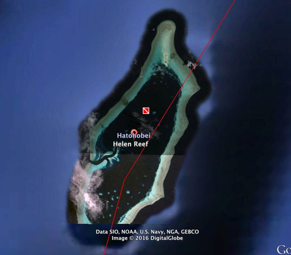 Helen Reef, near Southwest Islands, Palay