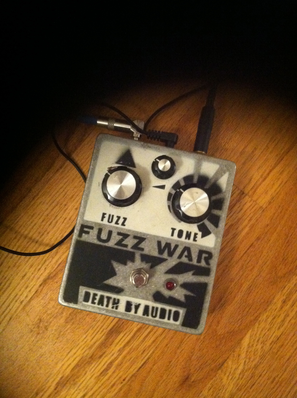 My only bass pedal. Given to me by Kerry Kallberg. I guess those are my classic  Solo Bass  EP settings.
