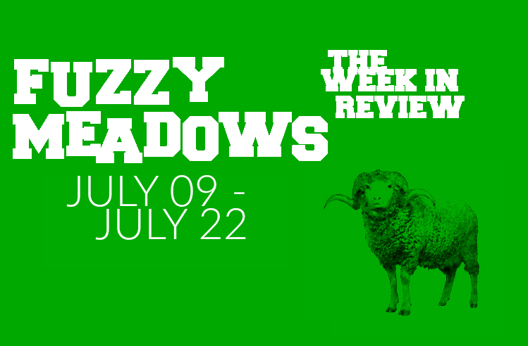 52914078 Fuzzy Meadows: The Week's Best New Music (July 9th - July 22nd)
