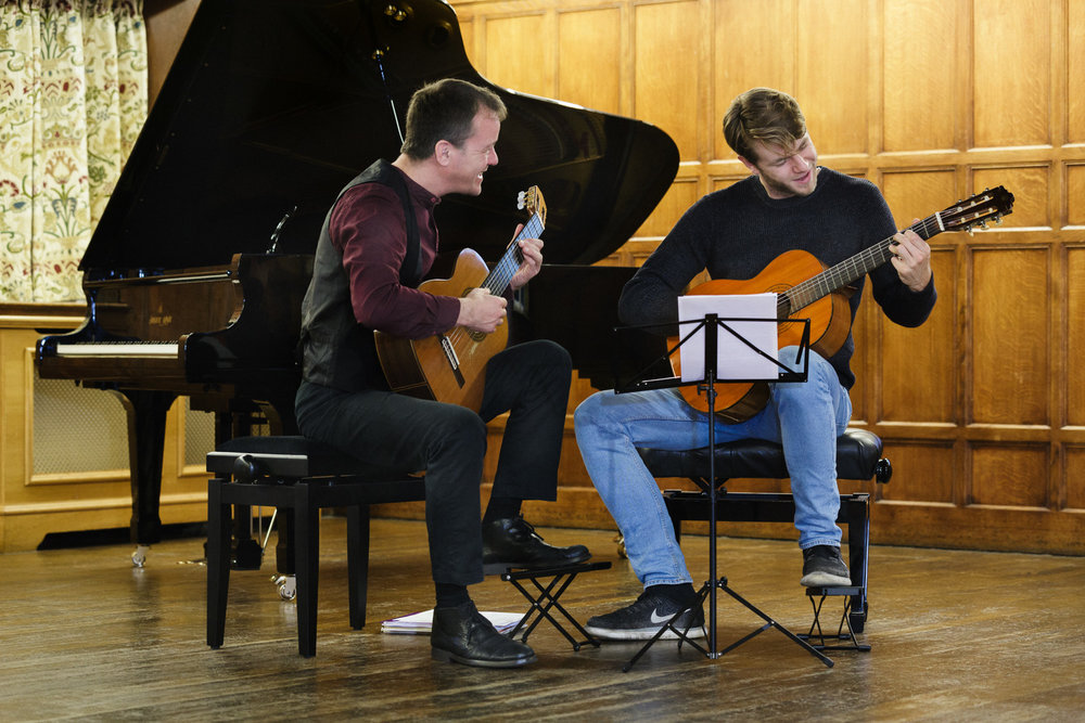 Guitar with Greenwich Music School