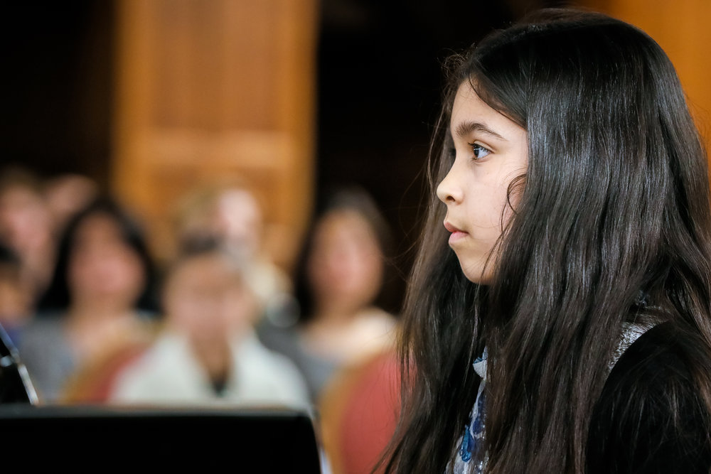 Grades 4, 5+ pathway - Includes choir, theory & composition, orchestra, and creative projects.