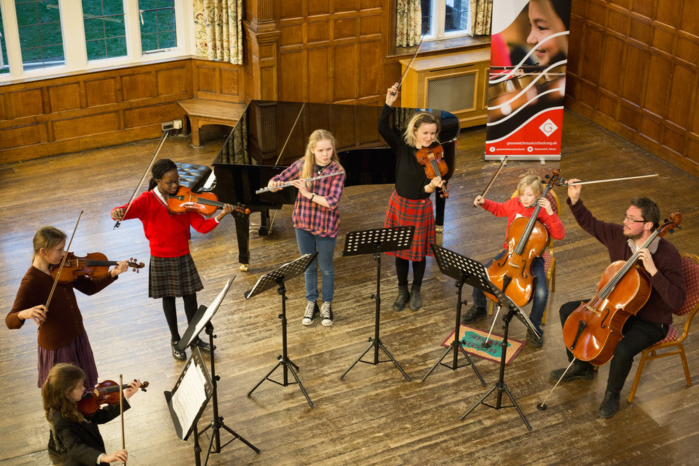 Greenwich Music School students