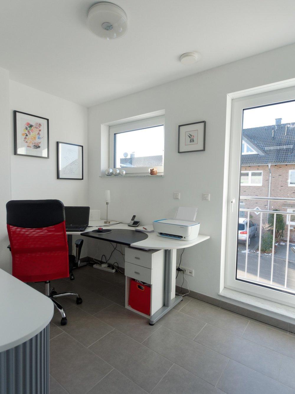 Zimmer, Büro im Obergeschoss