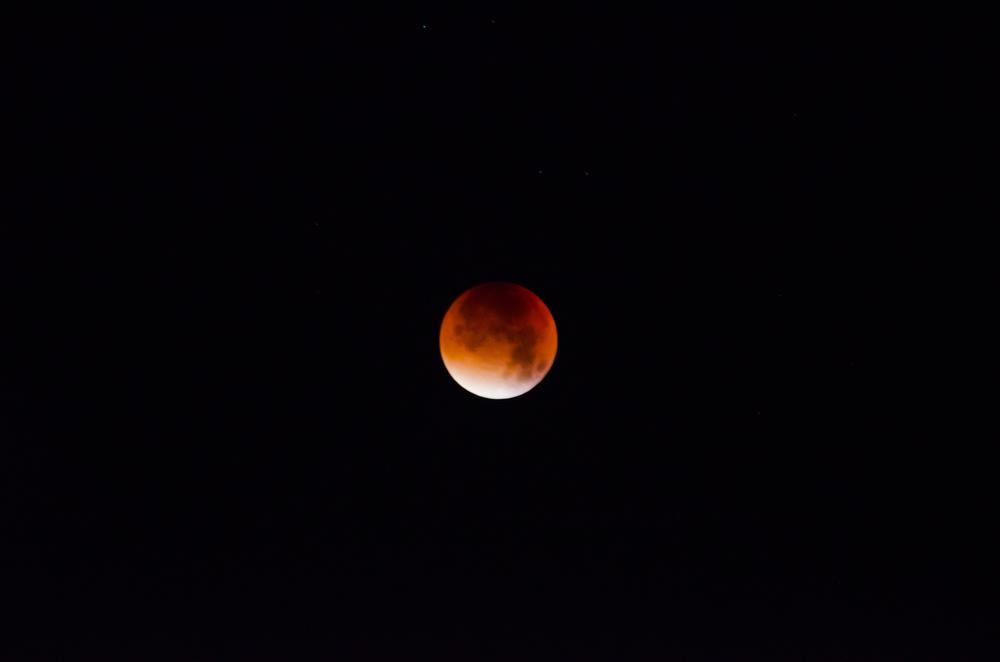 Månförmörkelsen kl 4:21