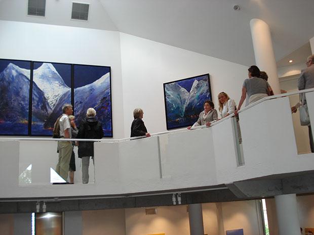 Eva Langaas utstilling på Gulden Kunstverk 2009