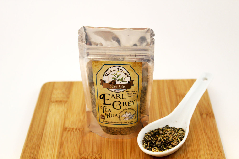 Rub me tender spices green tea
