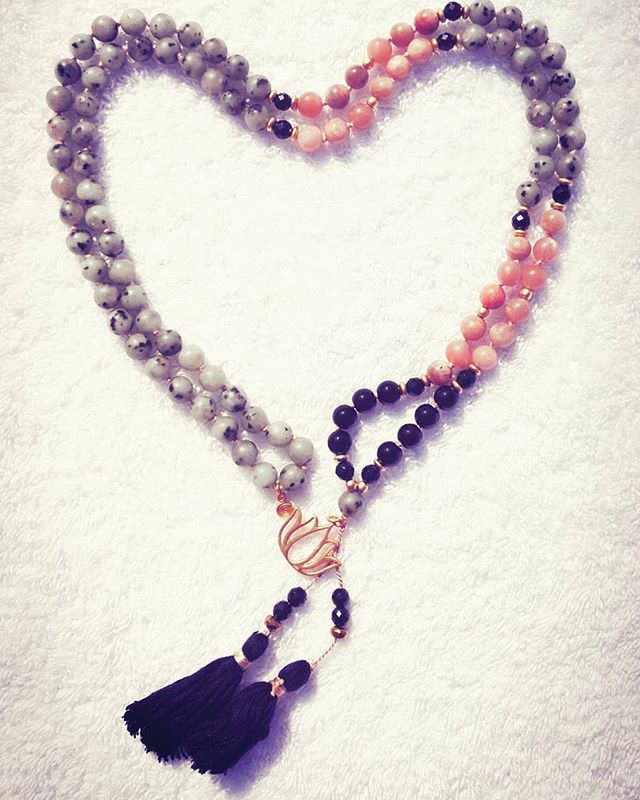 Birthday Mala Beads ❤ #108 #meditation #mantra #mala #bliss #yoga #love #just.sit #likeforfollow