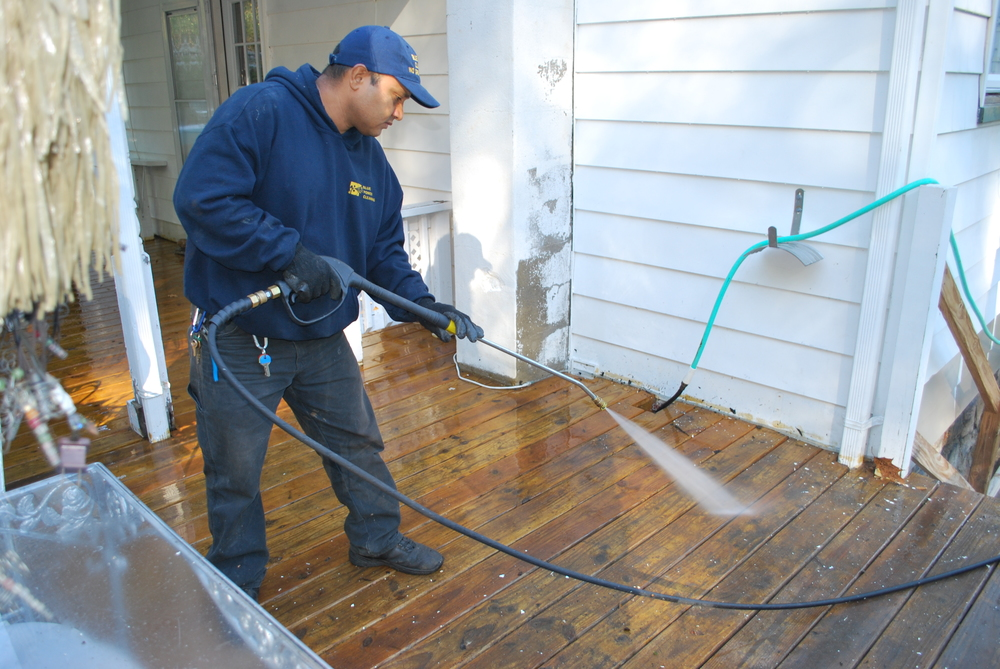 Power Washing Garrante The Cleaning