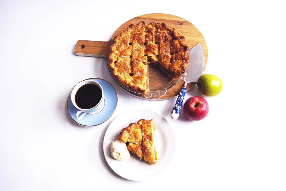 Apple pie in London