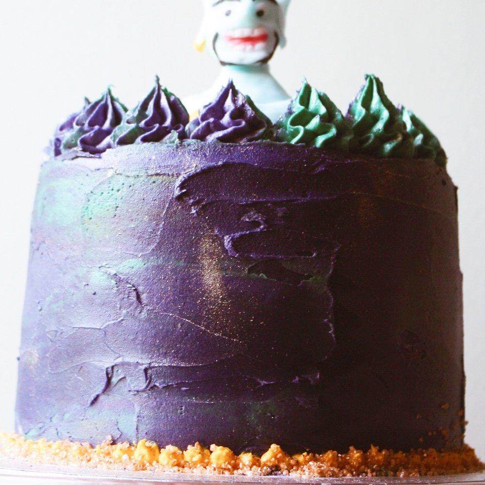 Custom Peanut Butter Lover cake