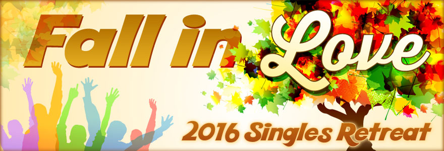 Singles Retreat 2016 Logo Banner