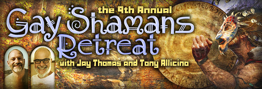 Gay Shaman's Retreat 2016 Logo Banner