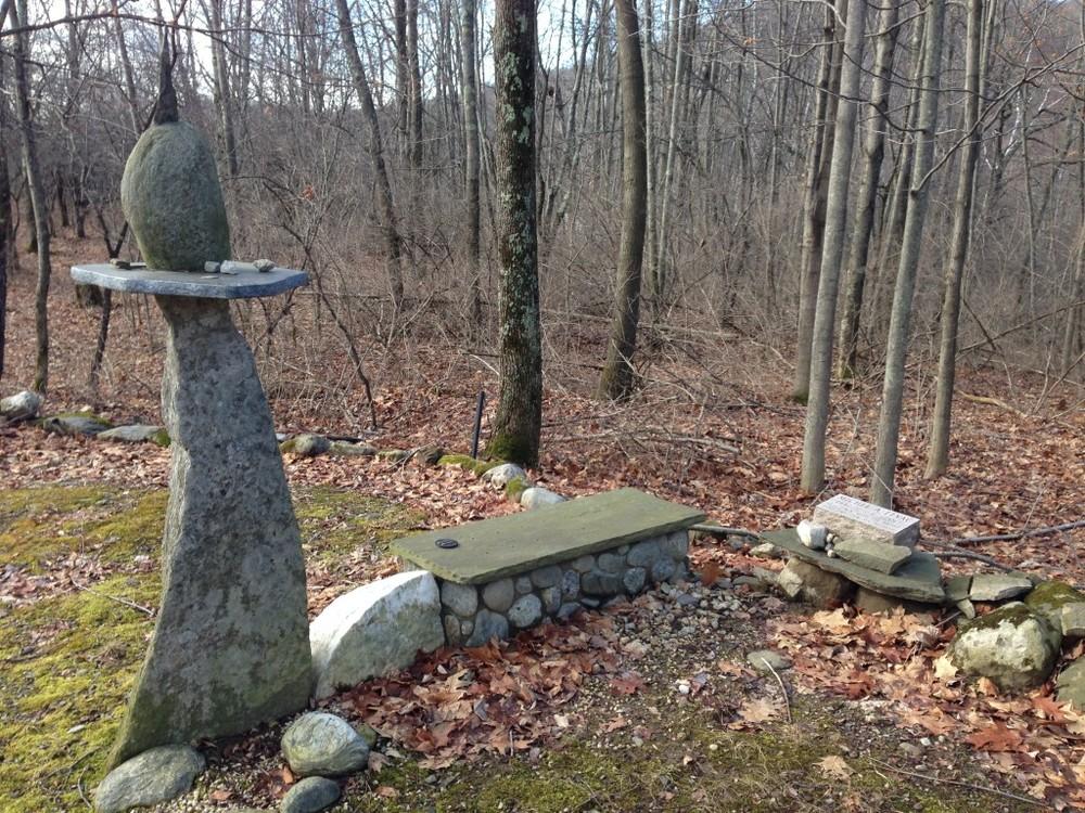 Whole memorial monument